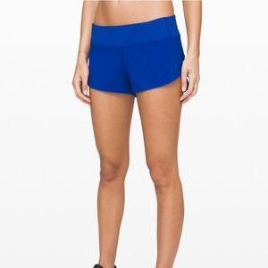 """NWOT Lululemon Speed Up Shorts 2.5"""""""